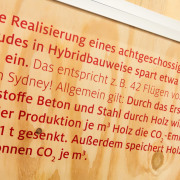 Bedruckte Holzplatte Digitaldruck
